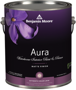Benjamin Moore Aura Matte Paint