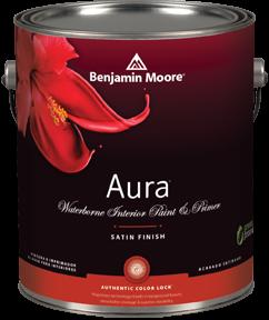 Benjamin Moore Aura Satin Paint