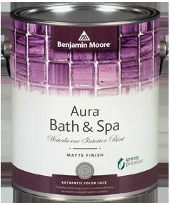 Benjamin Moore Aura Bath U0026 Spa Matte Paint