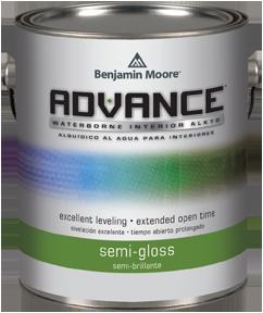 Benjamin Moore ADVANCE Interior Paint U2013 Semi Gloss Quart