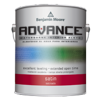 Benjamin Moore Advance Interior Paint Satin
