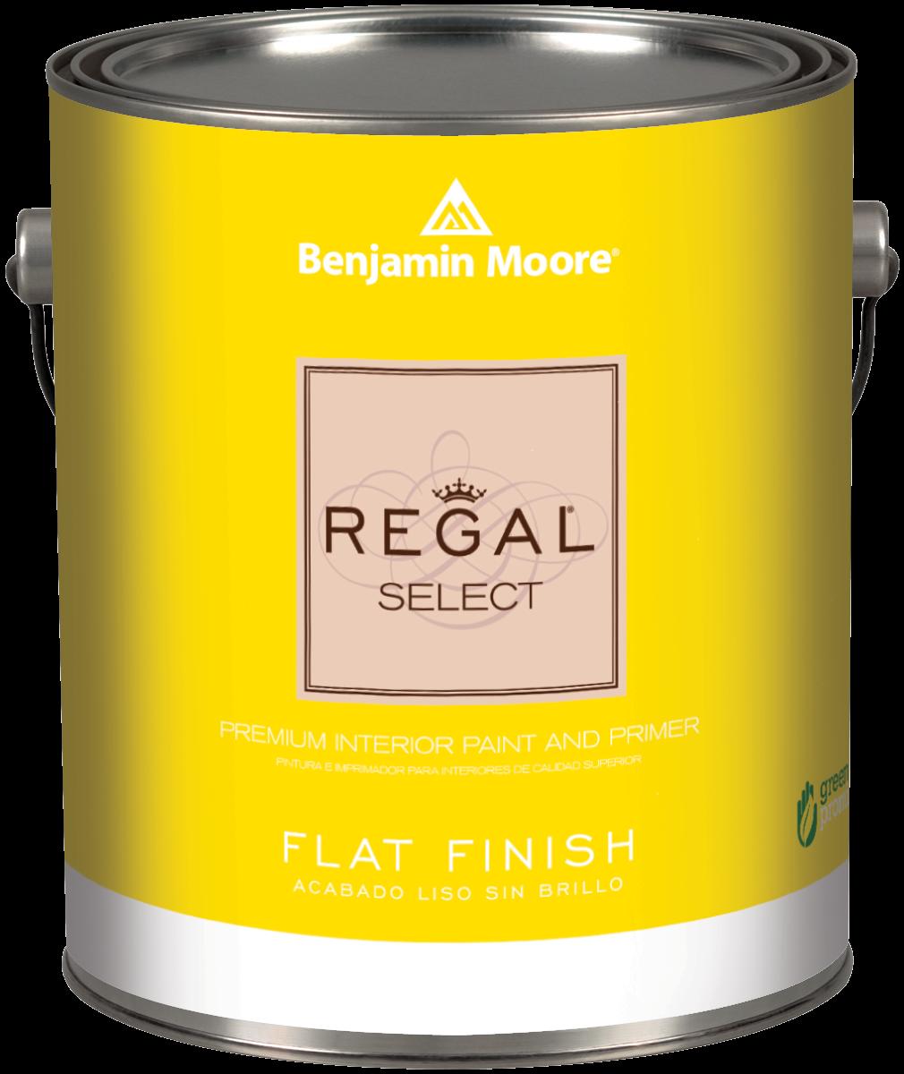 Benjamin moore regal select flat paint grosse ile for Is benjamin moore paint good